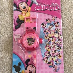 Disney Minnie Mouse projection watch